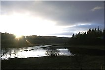 NN6795 : Sunrise at Lochan Uvie by Andrew Wood