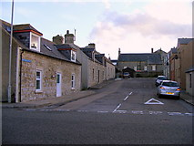 NJ2371 : Mitchell Street at Lossiemouth by Ann Harrison