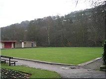 SD9927 : Bowling Green - Calder Holmes Park by Betty Longbottom