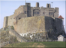 NU1341 : Lindisfarne Castle by Rick Crowley