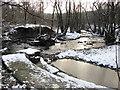 SD6915 : Eagley Brook Weir by John Tustin