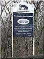 SE4923 : Welcome to Knottingley Amphitheatre by bernard bradley