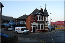 TQ7568 : Pier Chambers, Medway St, Chatham by N Chadwick