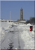 SK3455 : Crich Stand Car Park by Alan Murray-Rust