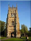 SP0343 : The tower of St Mary's Abbey, Evesham. by Colin Park