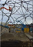 TA0827 : Razor wire, Hull by Paul Harrop