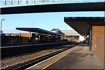 SS7597 : Neath Railway Station by Ruth Sharville