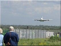 SJ3464 : A380..Big silver bird. by Graeme Walker