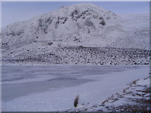 NN9462 : Loch a'Choire with Ben Vrackie by Euan Nelson