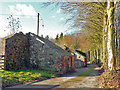 ST1074 : Barns adjacent to the Natural Burial Ground near Cardiff by Mick Lobb