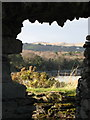 V6644 : View from inside Dunboy Castle towards Drom by Ulrich Hartmann