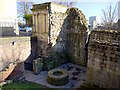 NZ2563 : Well below the Castle Keep by Andrew Curtis