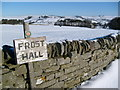 NY8056 : Winter around Frost Hall by Roger Morris