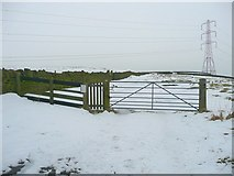 SE0118 : Eastern end of the permissive path, Top o't' Height, Rishworth by Humphrey Bolton