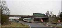SK7964 : The A1 road at Carlton near Newark by Steve  Fareham