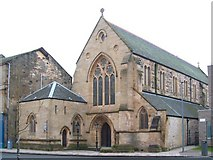 NS3975 : St Augustine's Episcopal Church by Lairich Rig
