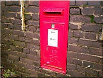 SN1916 : Postbox near Station, Whitland by welshbabe