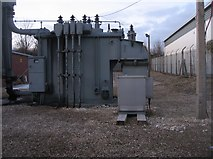 SU6252 : Electric sub station - Brunel Road by Given Up