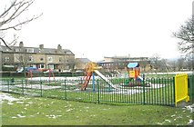 SE1734 : Playground - Peel Park - Otley Road by Betty Longbottom