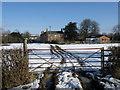 TL1587 : House and paddock, Denton Farm by Michael Trolove