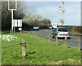 ST6459 : 2009 : The A39 at Crossways by Maurice Pullin