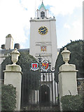 TQ3878 : Riverside entrance to Trinity Hospital, Greenwich by Stephen Craven
