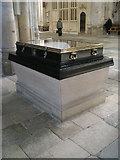SU4829 : Display case in the north west corner of Winchester Cathedral by Basher Eyre