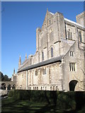 SU4829 : South transept of Winchester Cathedral by Basher Eyre