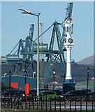 NS2876 : Customhouse Quay and Greenock Ocean Terminal by Thomas Nugent