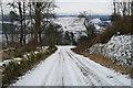 NR9794 : Minard Castle Road by Martin Jones