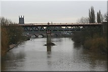 SO8455 : Bridge over the River Severn by Bill Nicholls