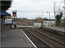 SK6443 : Burton Joyce Station by Alan Murray-Rust