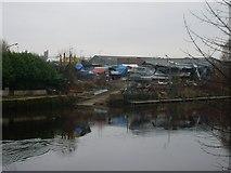 NS6162 : Rutherglen Harbour by Stephen Sweeney