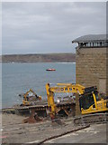 SW3526 : Sennen Cove lifeboat house by Rod Allday