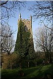 SW8441 : Old Kea Church Tower by Fred James
