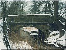 SE0927 : Bridge over Shibden Brook by Stephen Craven