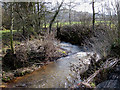 SO4710 : River Trothy running downstream at Jingle Street by Pauline E