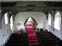 TR1148 : The interior of St Bartholomew's church, Waltham by Nick Smith
