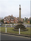 SU9877 : Jubilee Memorial in Datchet village centre by Basher Eyre