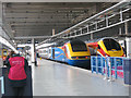 TQ2983 : East Midlands Trains at St Pancras by Stephen Craven