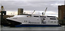 J3576 : P&O 'Express' at Belfast by Rossographer
