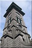 TQ3084 : Market Clock Tower, Caledonian Park, Islington by Jim Osley