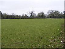 TM0843 : Playing Field, Hintlesham by Geographer