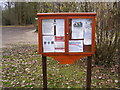 TM0843 : Hintlesham Village Village Notice Board by Adrian Cable