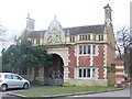 TQ1873 : Petersham Road Lodge by Colin Smith