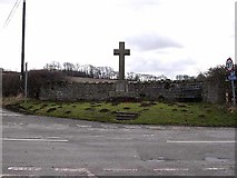 NY9874 : Hallington and Bingfield War Memorial by Oliver Dixon