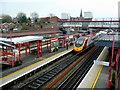SJ9173 : Macclesfield Railway Station 1 by Jonathan Billinger