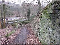 SD6811 : Stone Retaining Wall - repaired by John Tustin