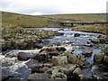 NY8128 : The River Tees above Cauldron Snout by Andrew Curtis