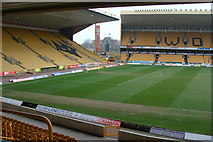 SO9199 : Molineux Stadium between matches by Ruth Sharville